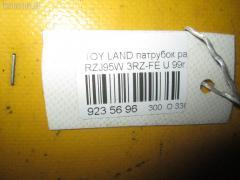 Патрубок радиатора ДВС Toyota Land cruiser prado RZJ95W 3RZ-FE Фото 2