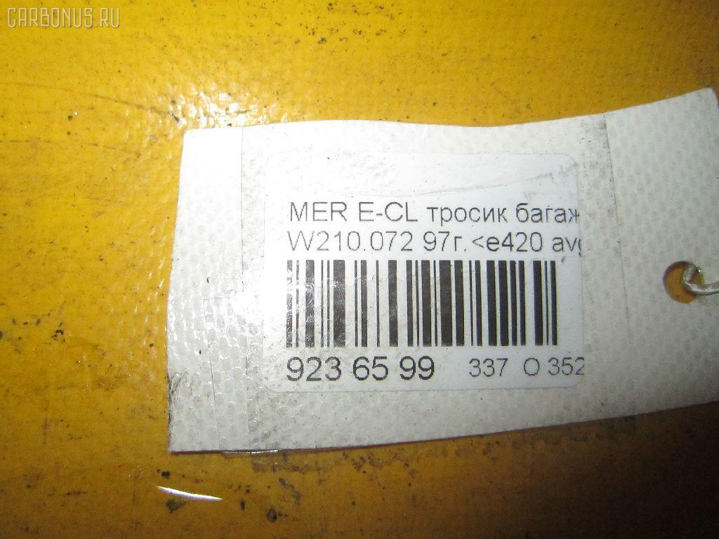 Тросик стояночного тормоза MERCEDES-BENZ E-CLASS W210.072 119.985 Фото 2