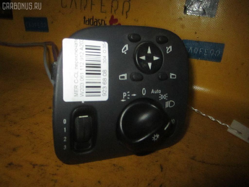 Переключатель света фар MERCEDES-BENZ C-CLASS W203.061 Фото 1