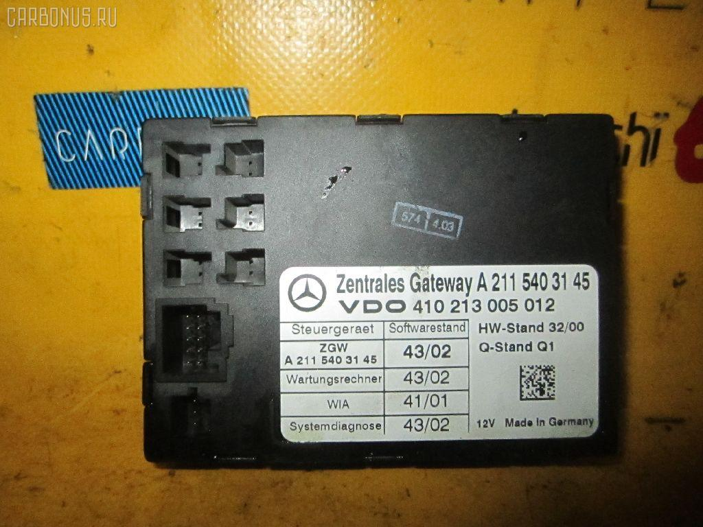 Блок упр-я MERCEDES-BENZ E-CLASS W211.070 113.967 Фото 2