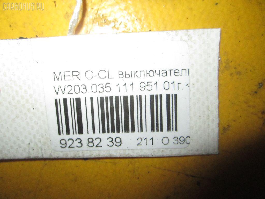 Выключатель концевой MERCEDES-BENZ C-CLASS  W203.035 Фото 4