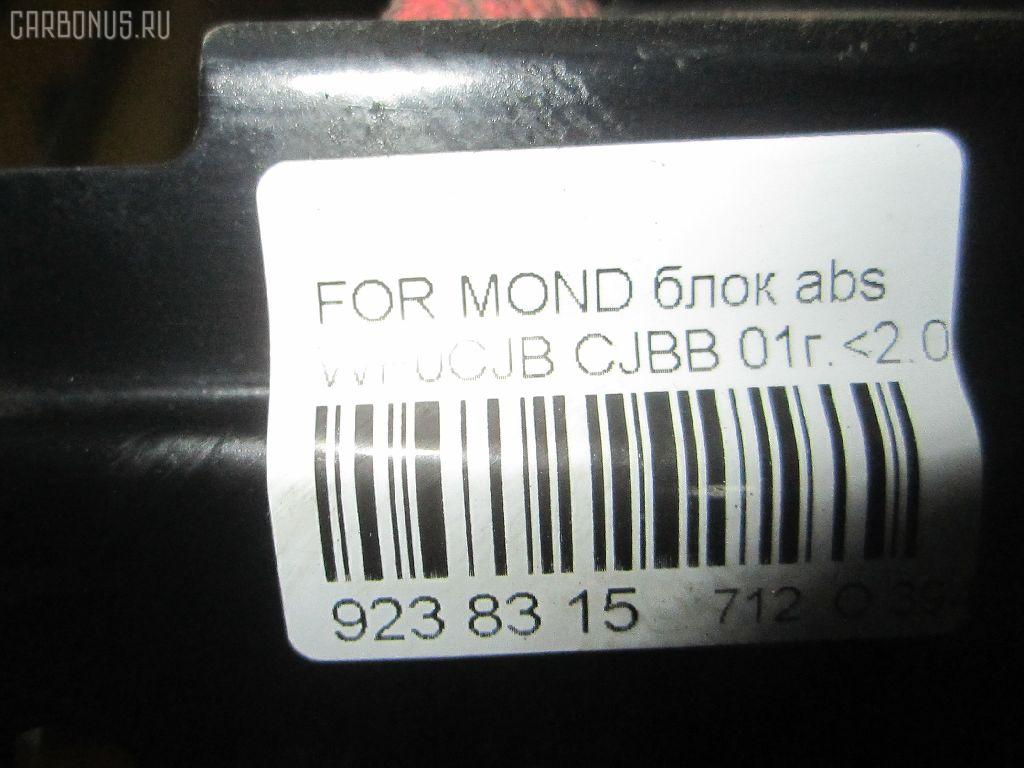 Блок ABS FORD MONDEO III WF0CJB CJBB Фото 6