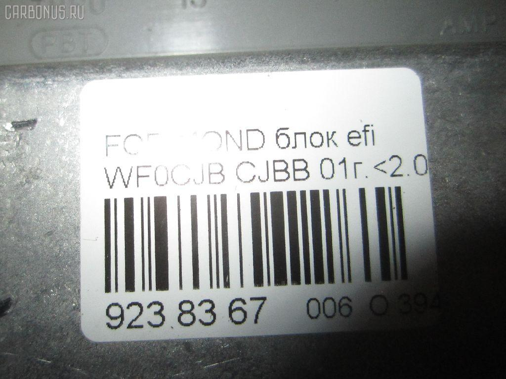 Блок EFI FORD MONDEO III WF0CJB CJBB Фото 3