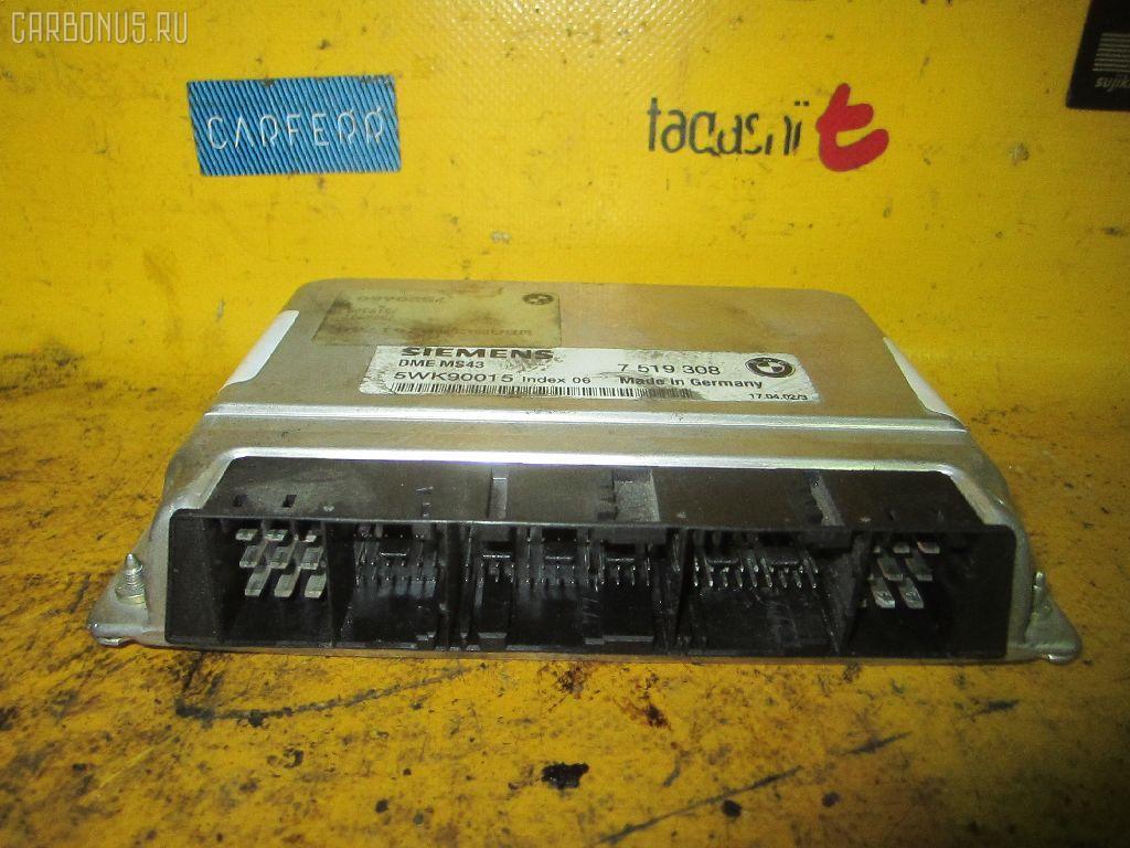 Блок EFI BMW 5-SERIES E39-DS42 M54-256S5 Фото 1