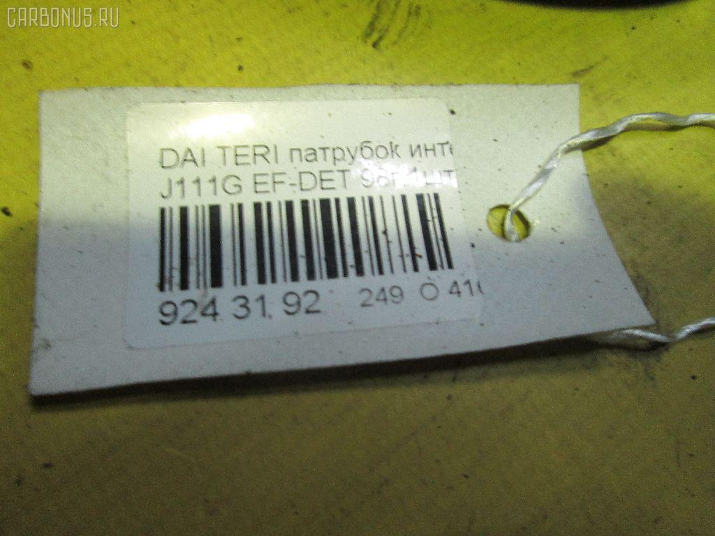 Патрубок интеркуллера DAIHATSU TERIOS KID J111G EF-DET Фото 2