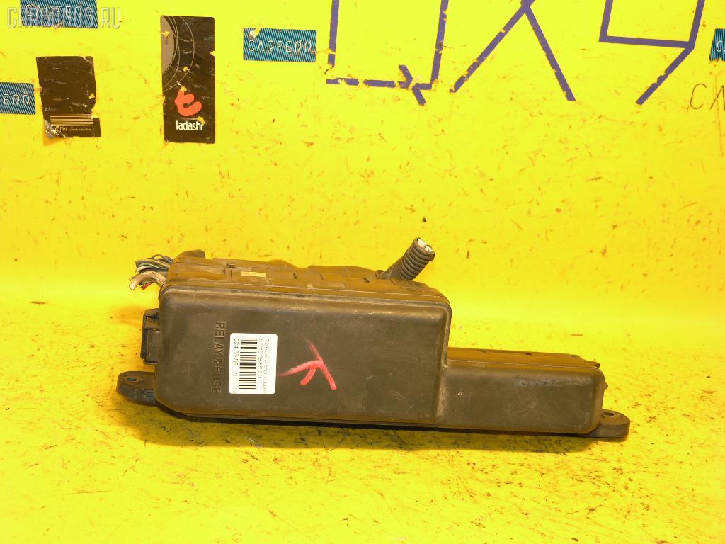 Блок предохранителей TOYOTA CARINA ST215 3S-FE. Фото 1