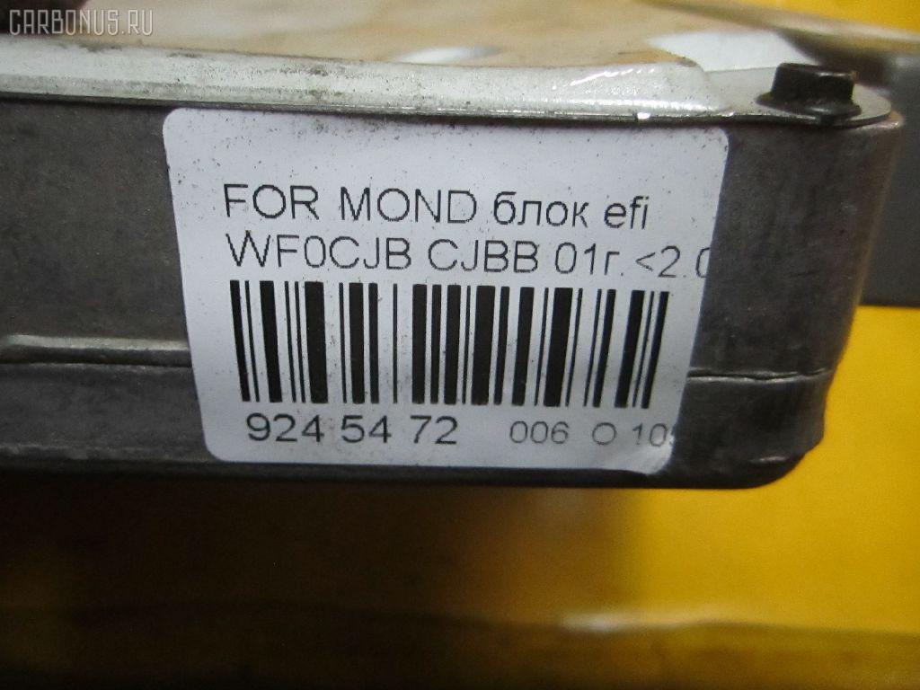 Блок EFI FORD MONDEO III WF0CJB CJBB Фото 5