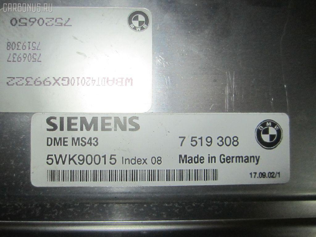 Блок EFI BMW 5-SERIES E39-DT42 M54-256S5 Фото 1