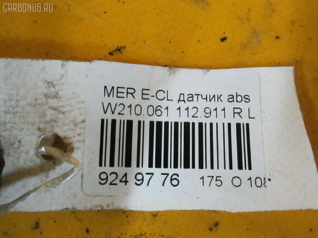 Датчик ABS MERCEDES-BENZ E-CLASS W210.061 112.911 Фото 2