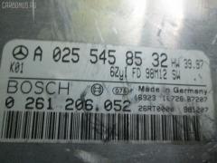 Блок EFI MERCEDES-BENZ E-CLASS W210.061 112.911 Фото 2