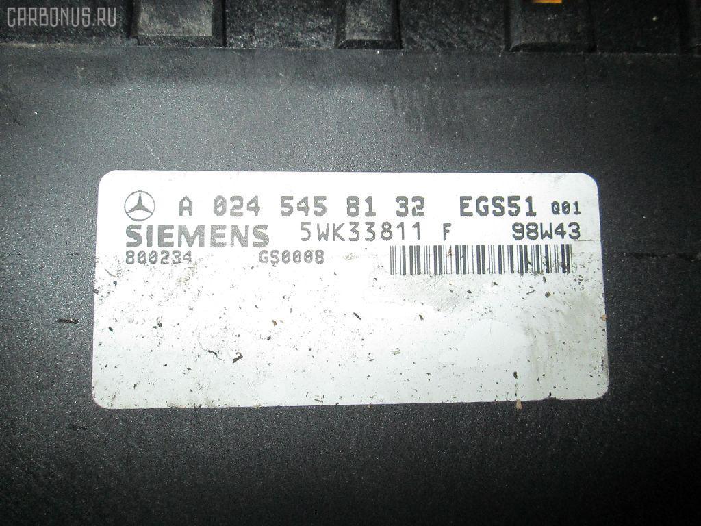 Блок управления АКПП MERCEDES-BENZ E-CLASS W210.065 112.941 Фото 1