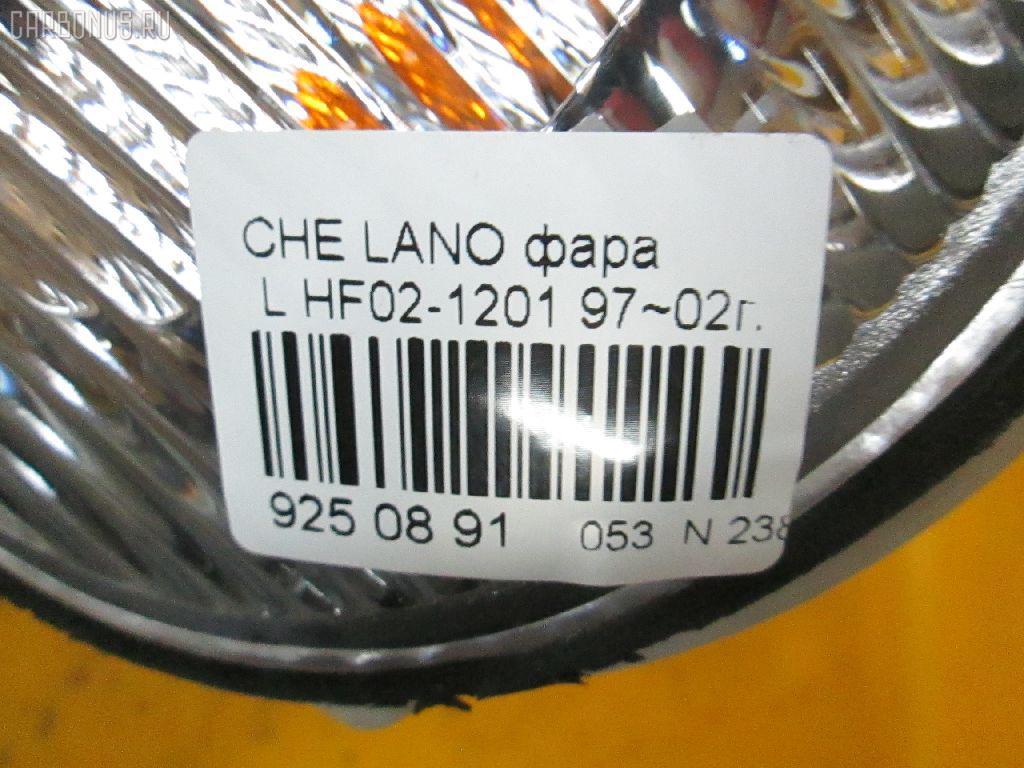 Фара CHEVROLET LANOS Фото 3