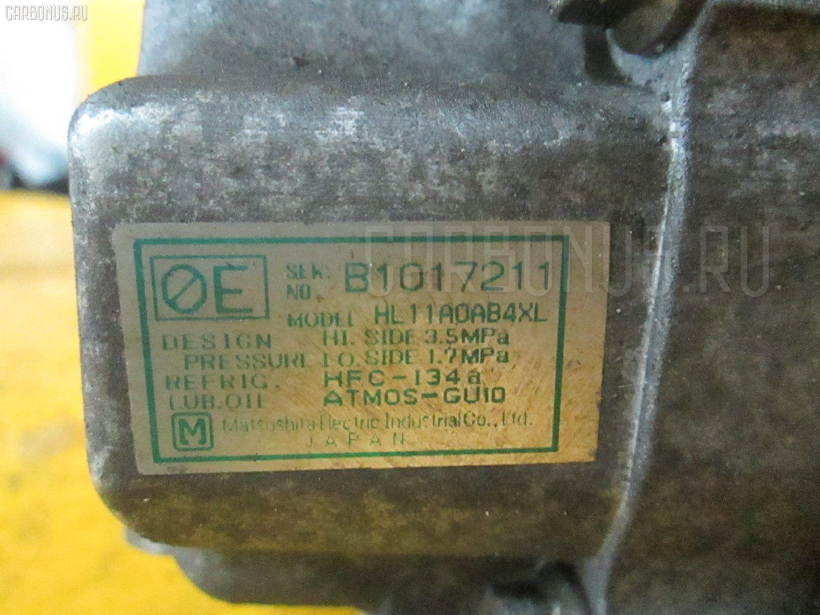 Компрессор кондиционера HONDA LOGO GA3 D13B. Фото 7