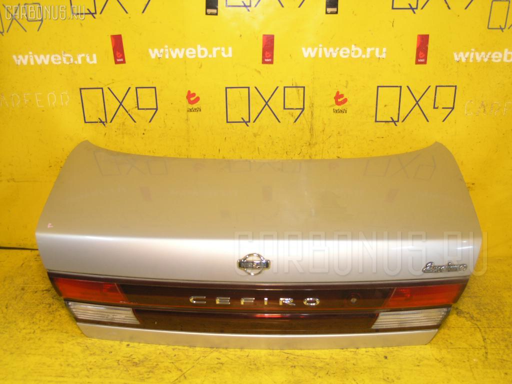 Крышка багажника NISSAN CEFIRO A32. Фото 8