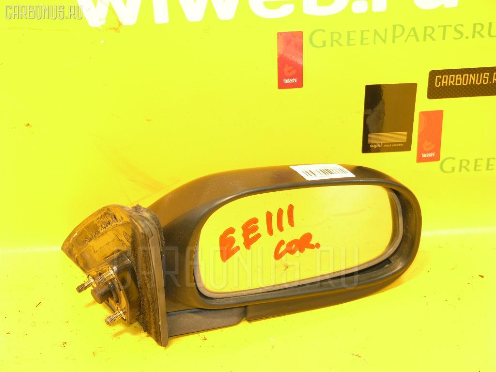 Зеркало двери боковой TOYOTA COROLLA EE111. Фото 4