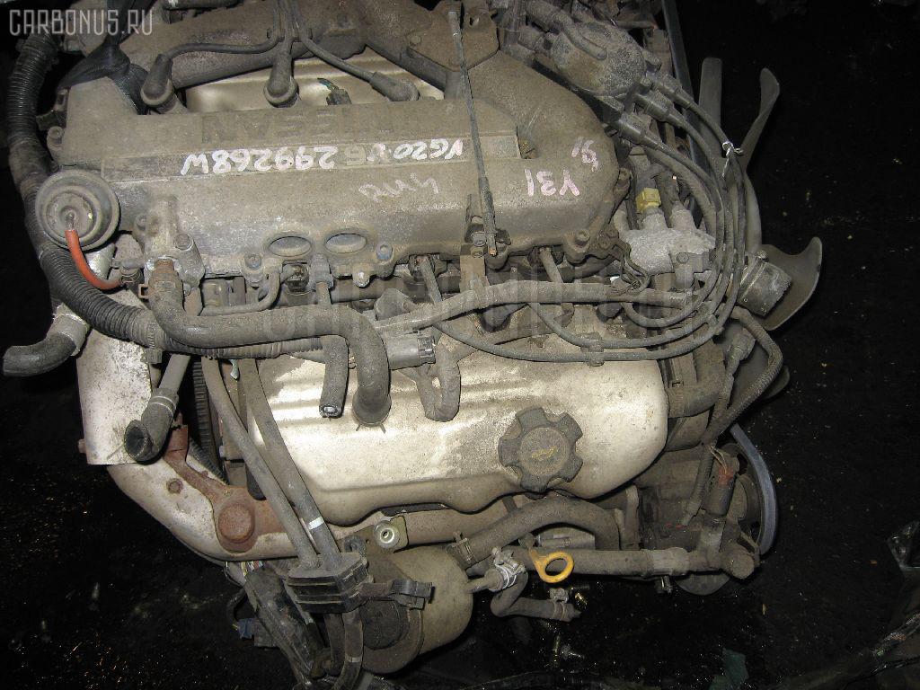 Двигатель NISSAN CEDRIC Y31 VG20E. Фото 10