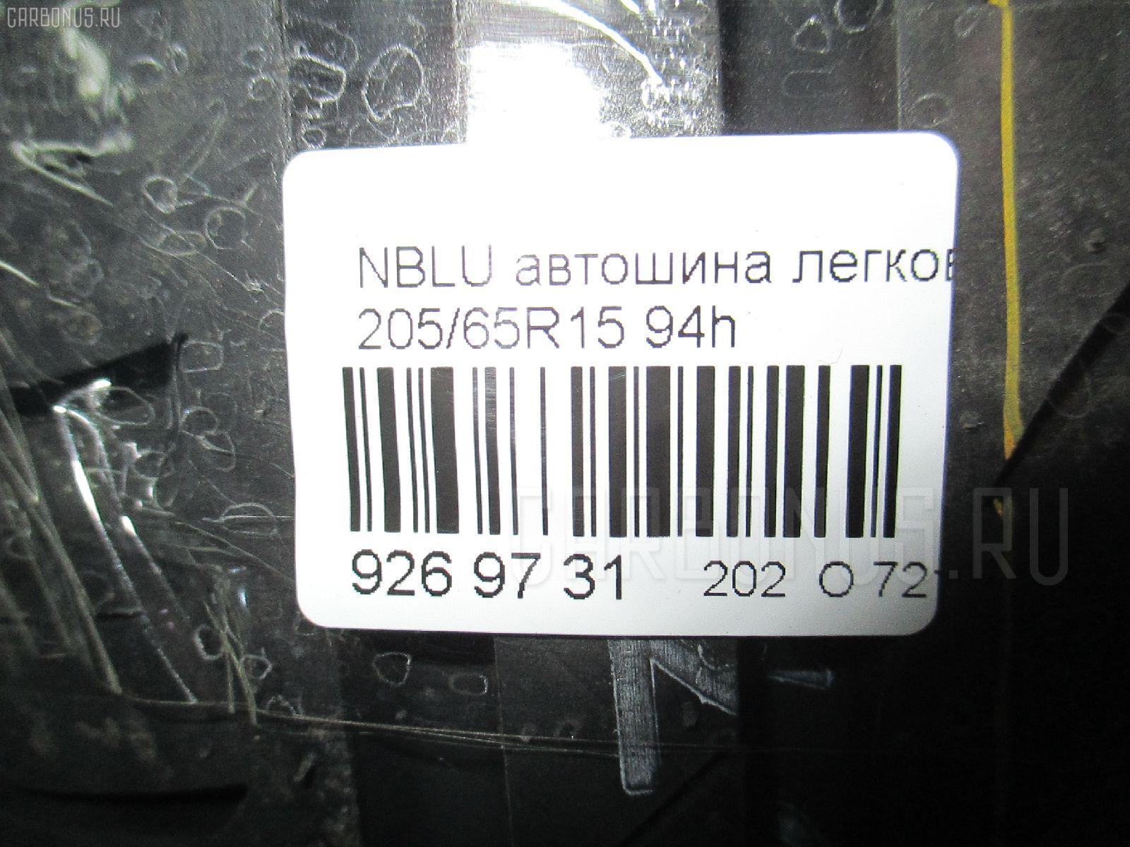Автошина легковая летняя NBLUE HD PLUS 205/65R15 NEXEN Фото 4