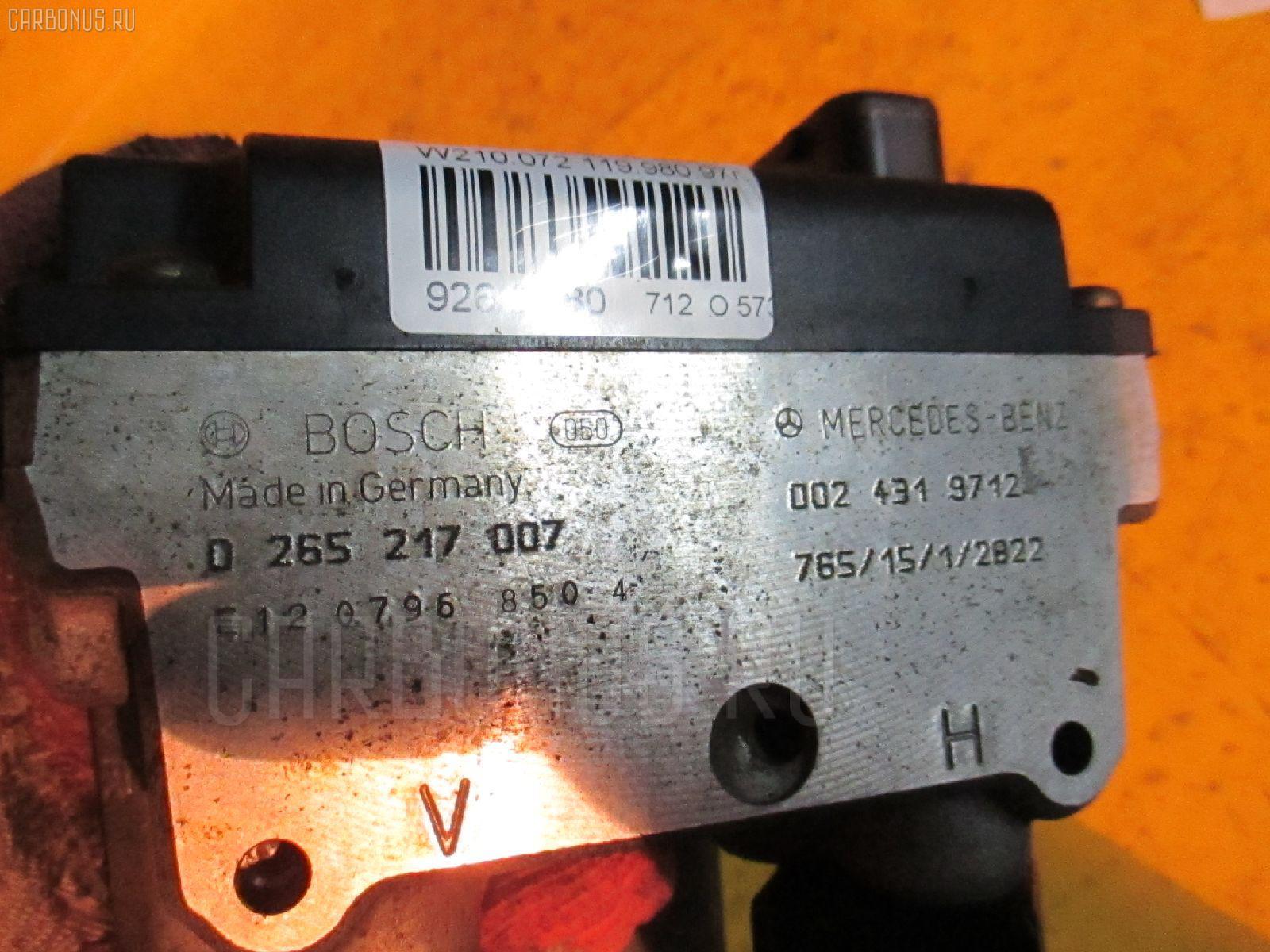 Блок ABS MERCEDES-BENZ E-CLASS W210.072 119.980 Фото 1