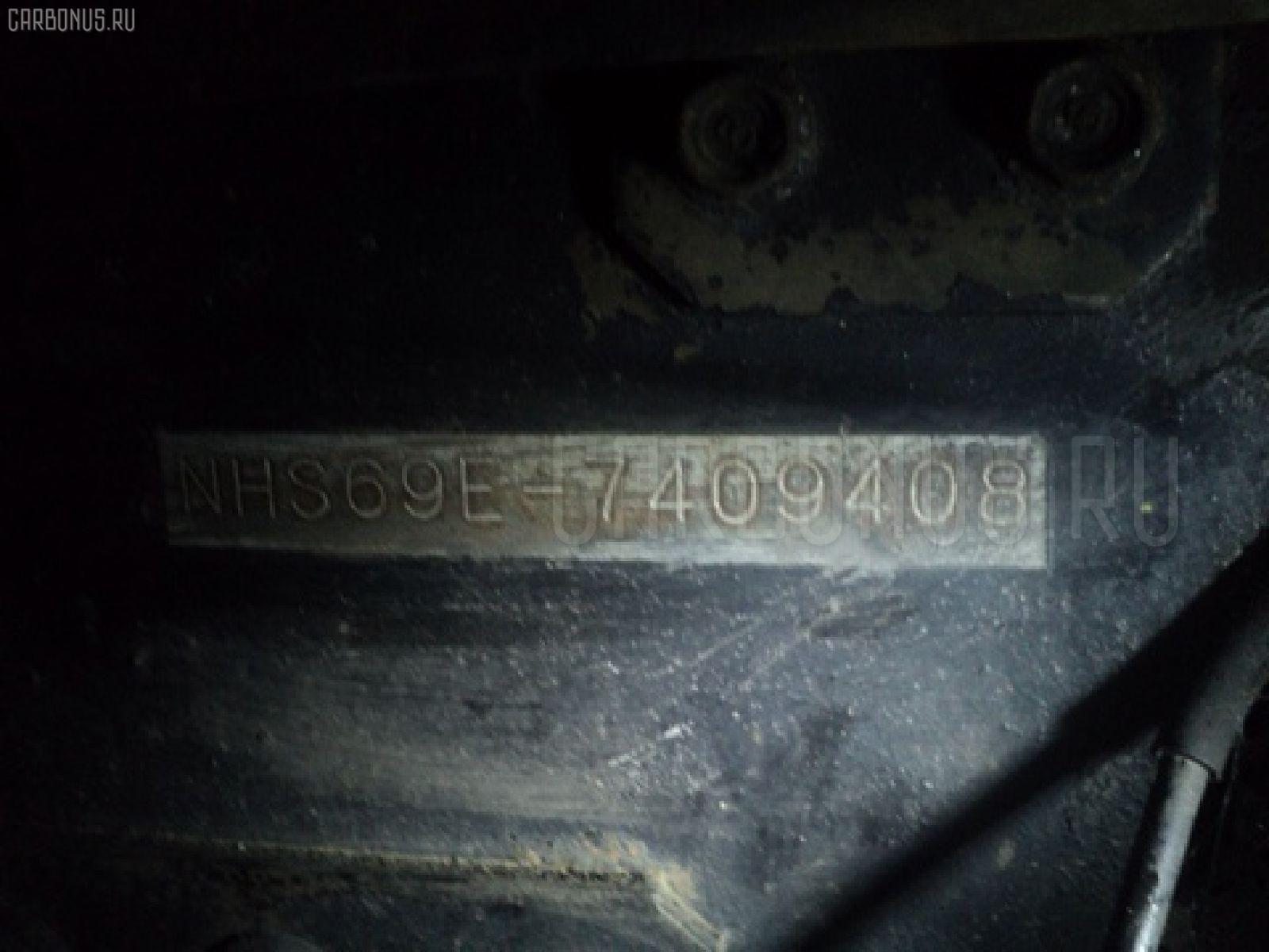 Патрубок радиатора печки ISUZU ELF NHS69E 4JG2 Фото 4
