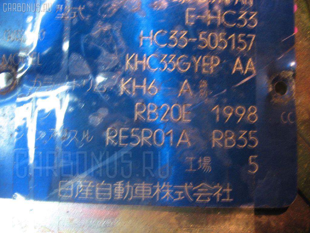 Двигатель NISSAN LAUREL HC33 RB20E Фото 6