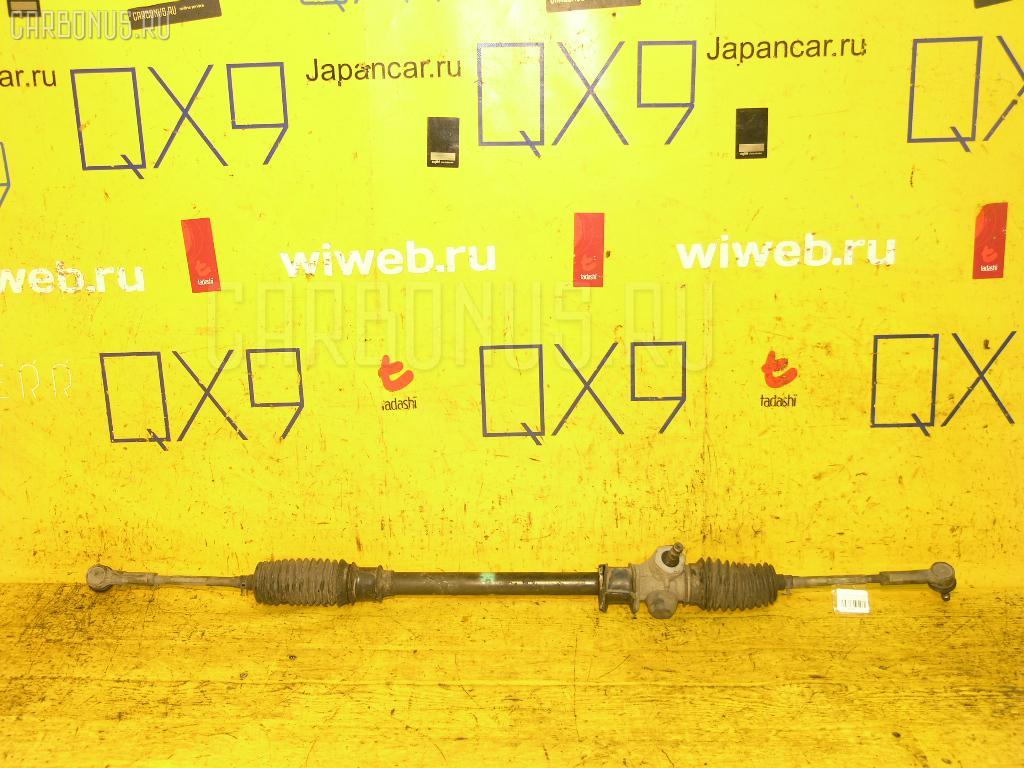 Рулевая рейка SUZUKI KEI HN21S K6A. Фото 5