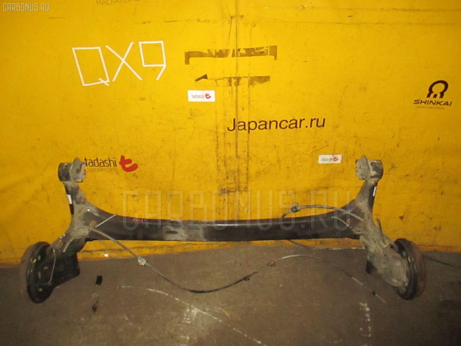 Балка подвески TOYOTA VISTA ZZV50 1ZZ-FE. Фото 9