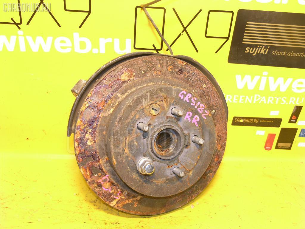 Ступица TOYOTA CROWN GRS182 3GR-FSE. Фото 11