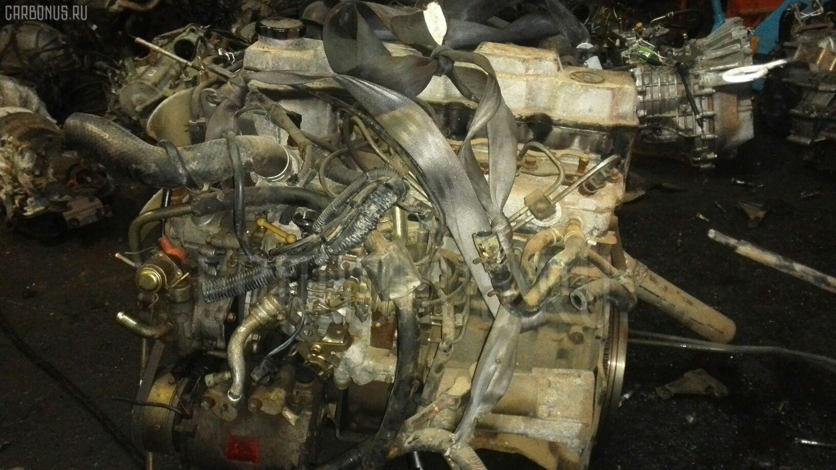 Двигатель MITSUBISHI DELICA SPACE GEAR PD8W 4M40T. Фото 8
