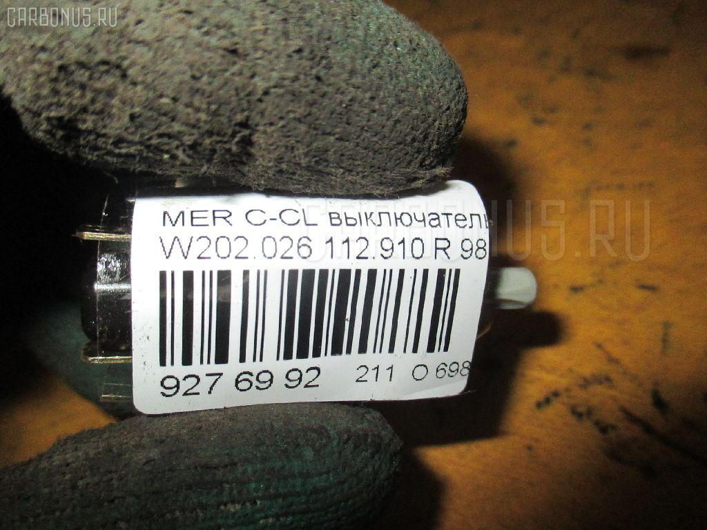 Выключатель концевой MERCEDES-BENZ C-CLASS W202.026 Фото 2