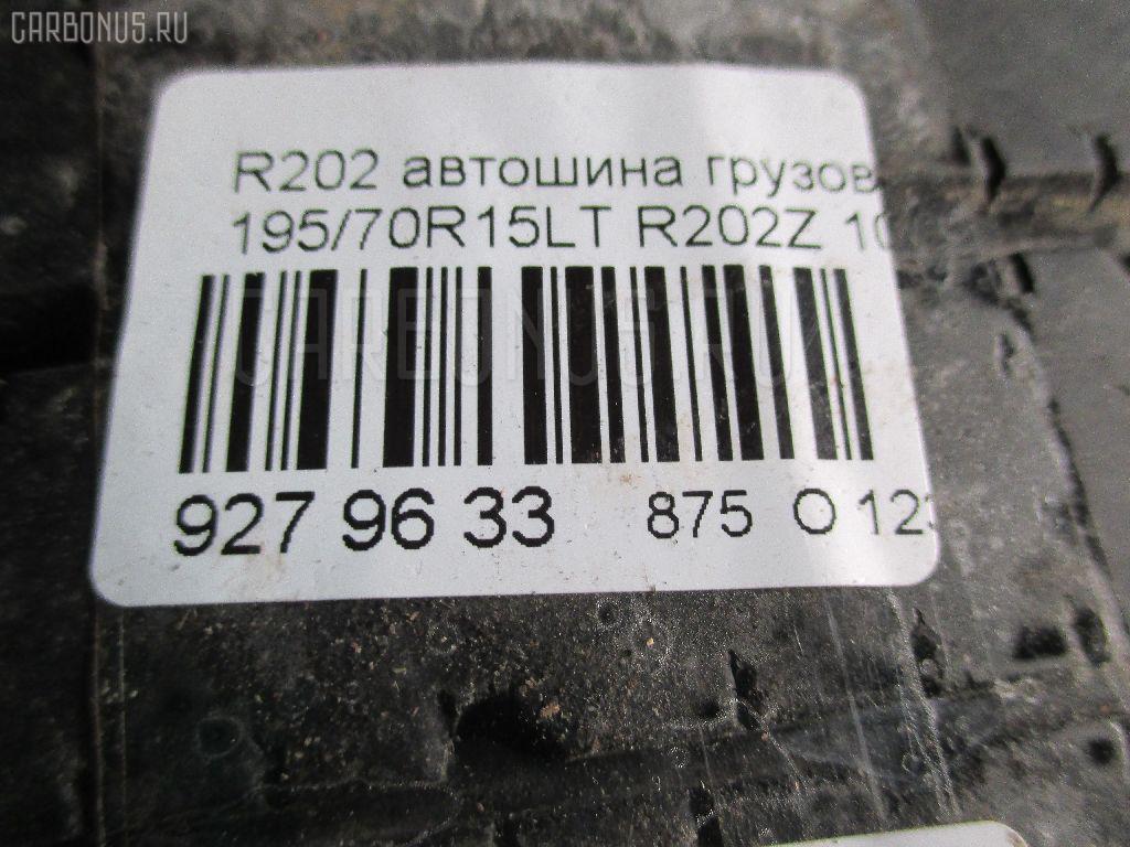 Автошина грузовая летняя R202 195/75R15LT BRIDGESTONE R202Z Фото 3
