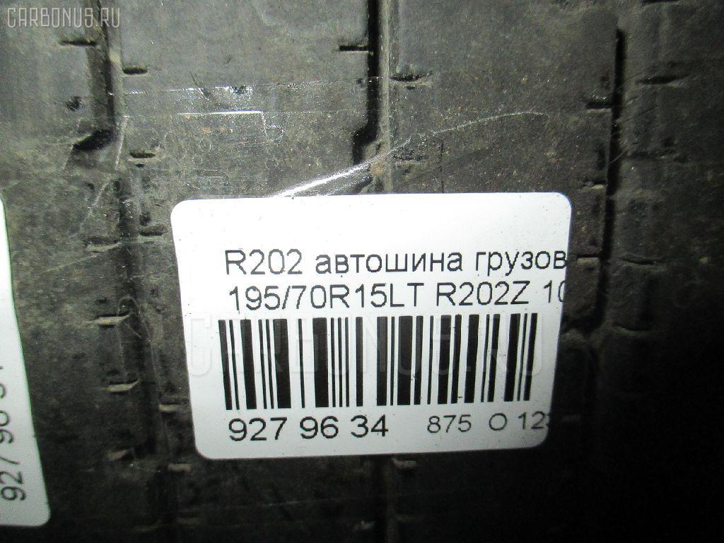 Автошина грузовая летняя R202 195/75R15LT BRIDGESTONE R202Z Фото 4