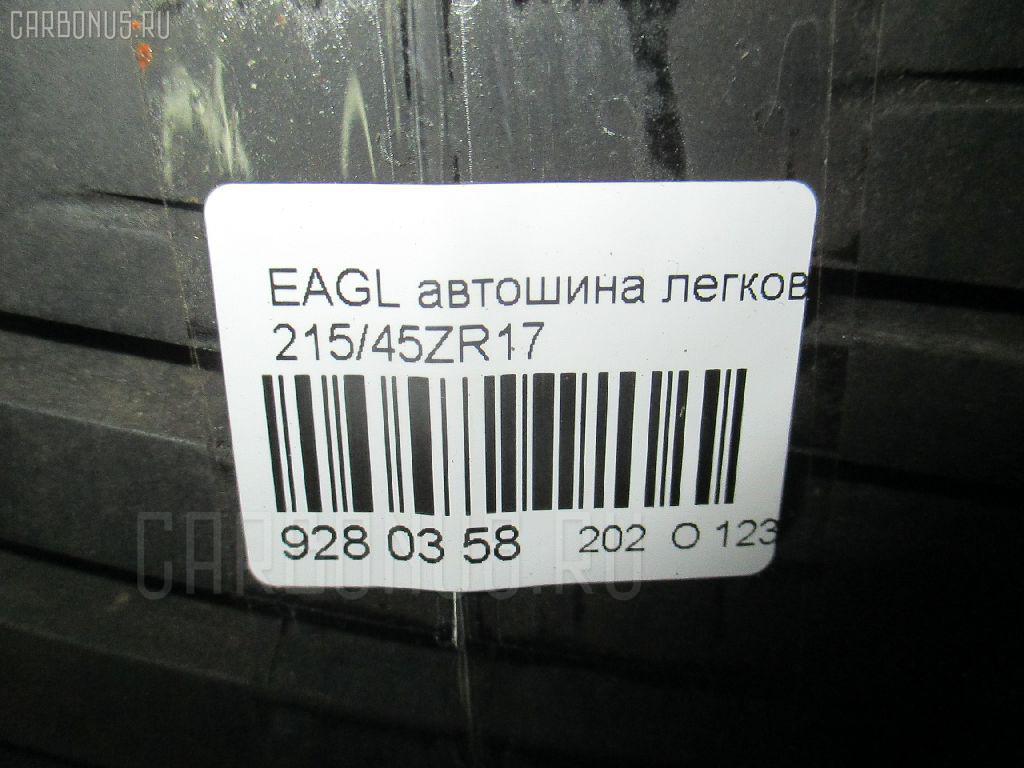 Автошина легковая летняя EAGLE F1 215/45ZR17 GOOD YEAR Фото 3