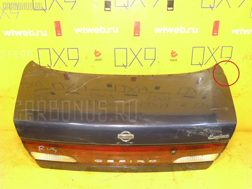Крышка багажника NISSAN CEFIRO A32 Фото 1