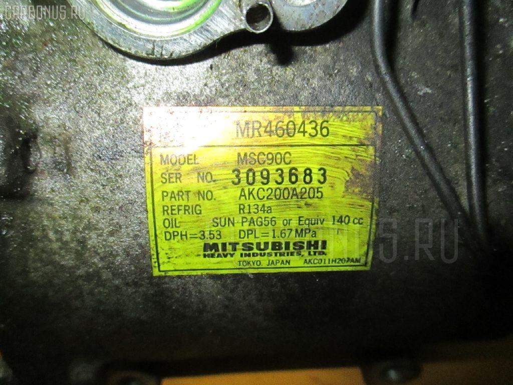 Компрессор кондиционера MITSUBISHI DINGO CQ2A 4G15. Фото 3