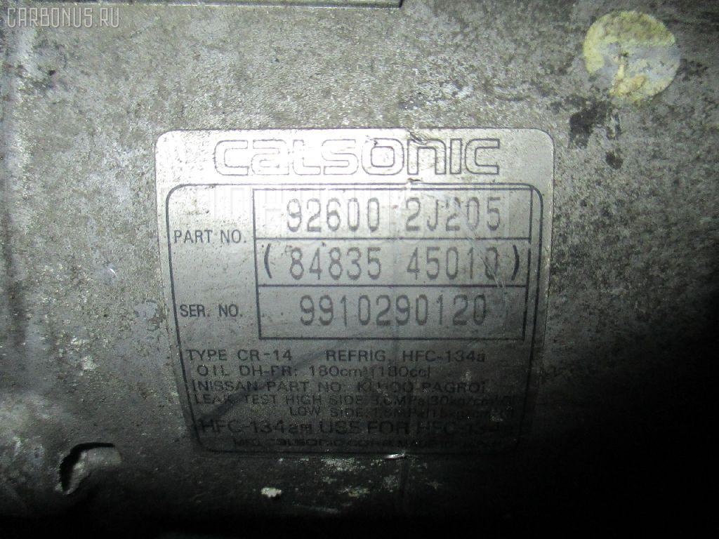 Компрессор кондиционера NISSAN AVENIR PW11 SR20DE Фото 1