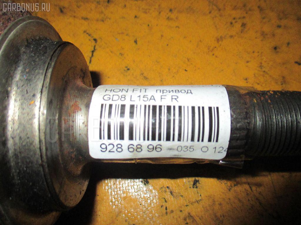 Привод HONDA FIT ARIA GD8 L15A Фото 2