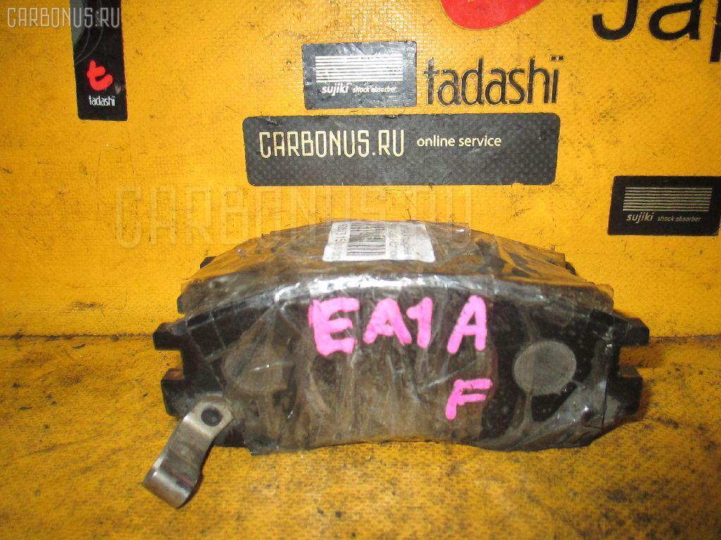 Тормозные колодки MITSUBISHI GALANT EA1A 4G93. Фото 4