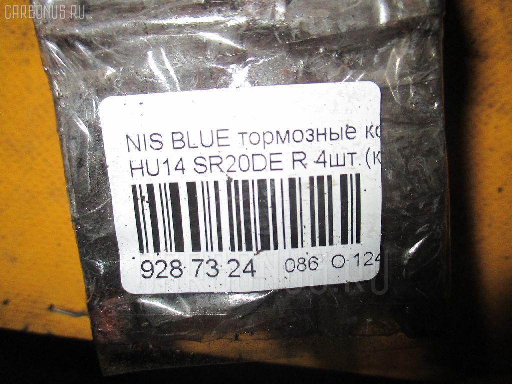 Тормозные колодки NISSAN BLUEBIRD HU14 SR20DE Фото 3