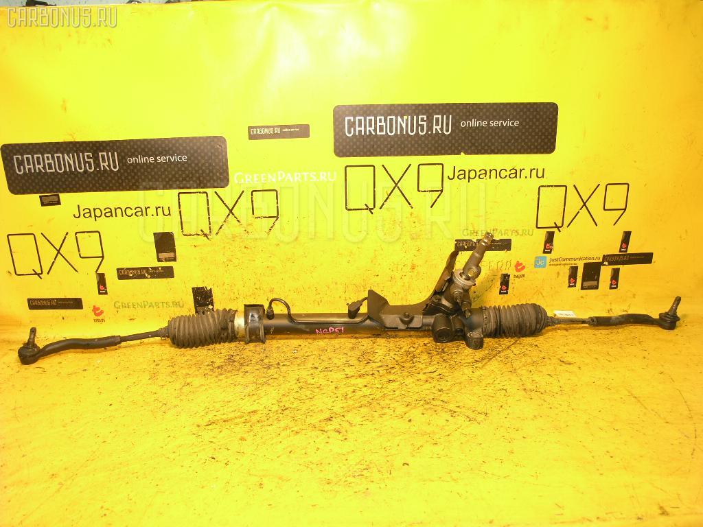Рулевая рейка TOYOTA SUCCEED NCP51G 1NZ-FE. Фото 7