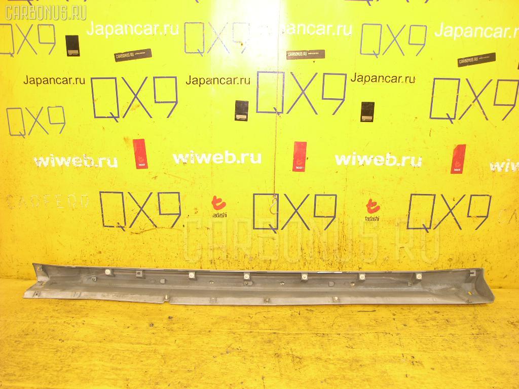 Порог кузова пластиковый ( обвес ) MITSUBISHI PAJERO IO H77W Фото 1