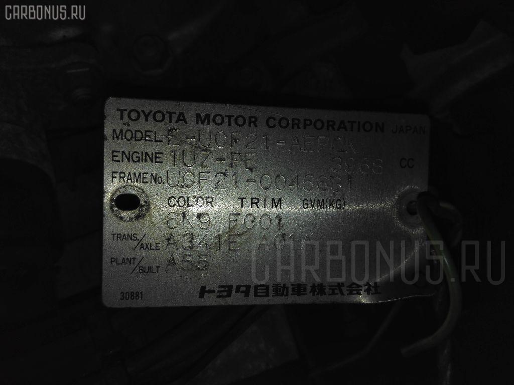 Двигатель TOYOTA CELSIOR UCF21 1UZ-FE Фото 3