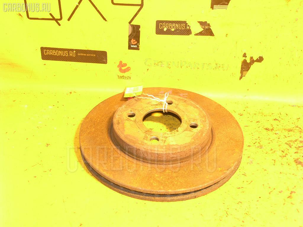 Тормозной диск Nissan Tiida NC11 HR15DE Фото 1