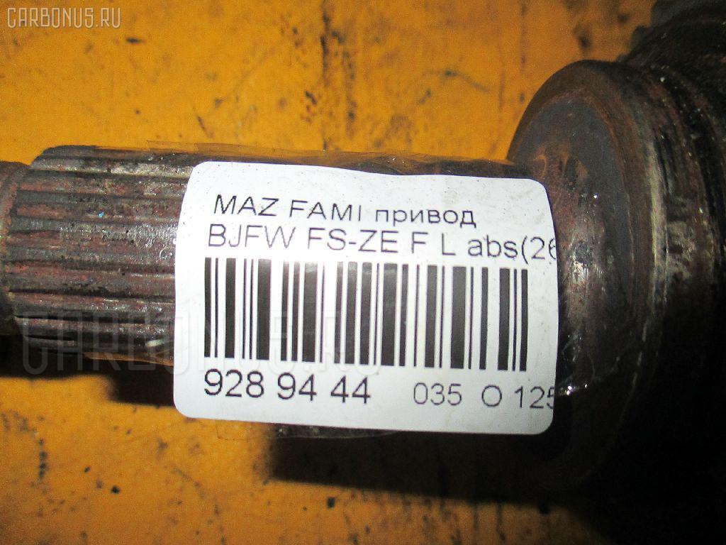 Привод MAZDA FAMILIA S-WAGON BJFW FS-ZE Фото 2