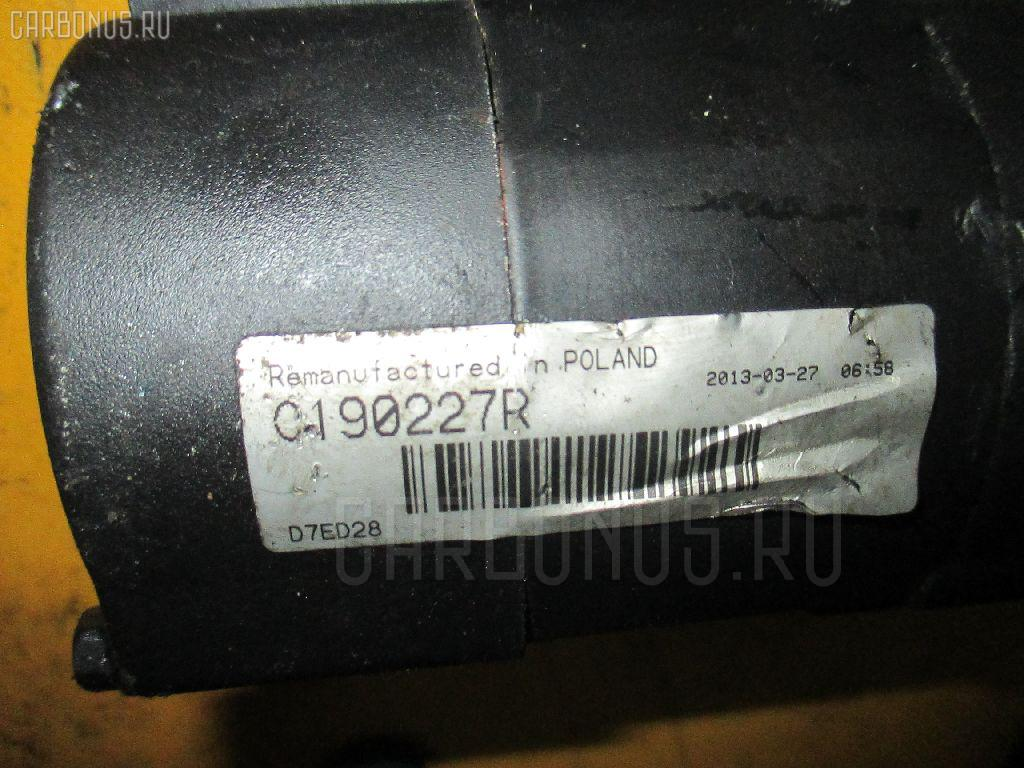 Стартер MERCEDES-BENZ A-CLASS W168.033 166.960 Фото 1