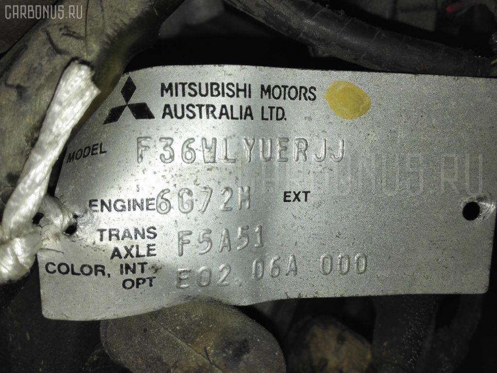 Двигатель MITSUBISHI DIAMANTE WAGON F36W 6G72M Фото 8