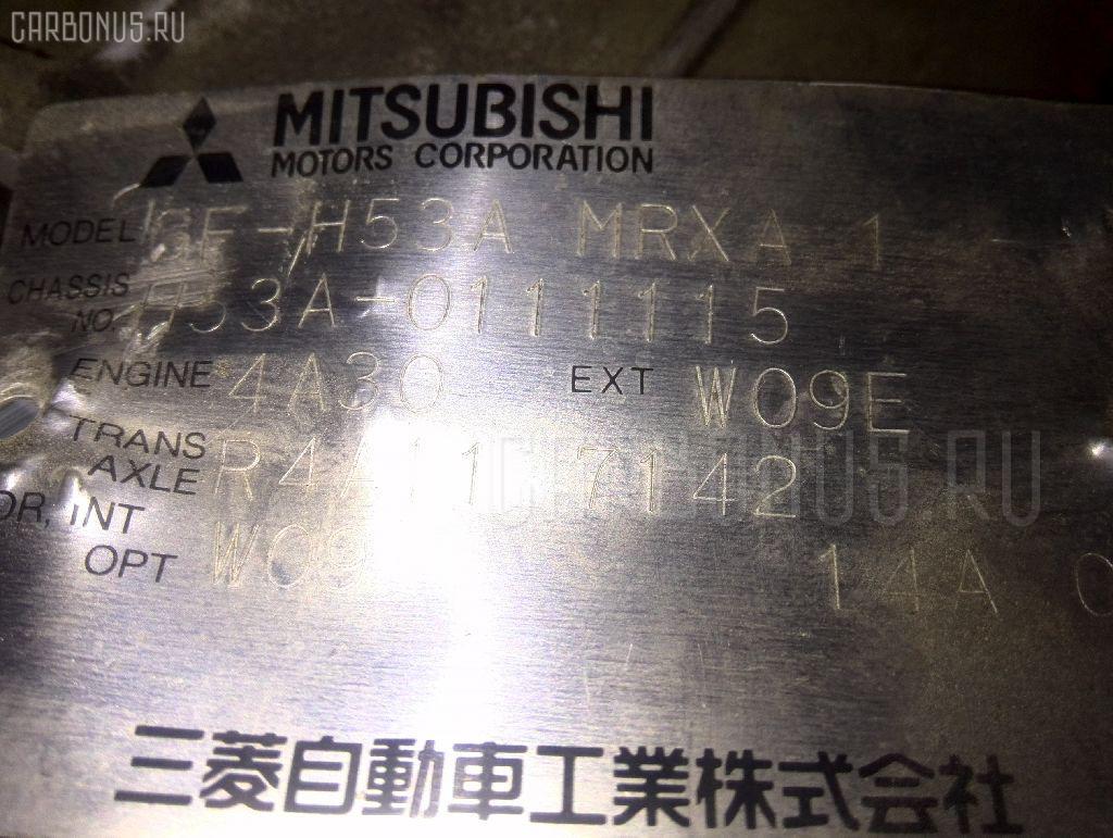 КПП автоматическая MITSUBISHI PAJERO MINI H53A 4A30 Фото 3