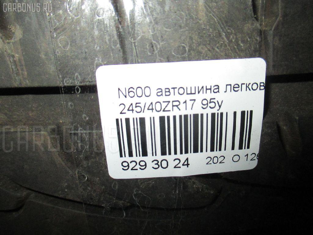 Автошина легковая летняя N6000 245/40ZR17 NEXEN Фото 3