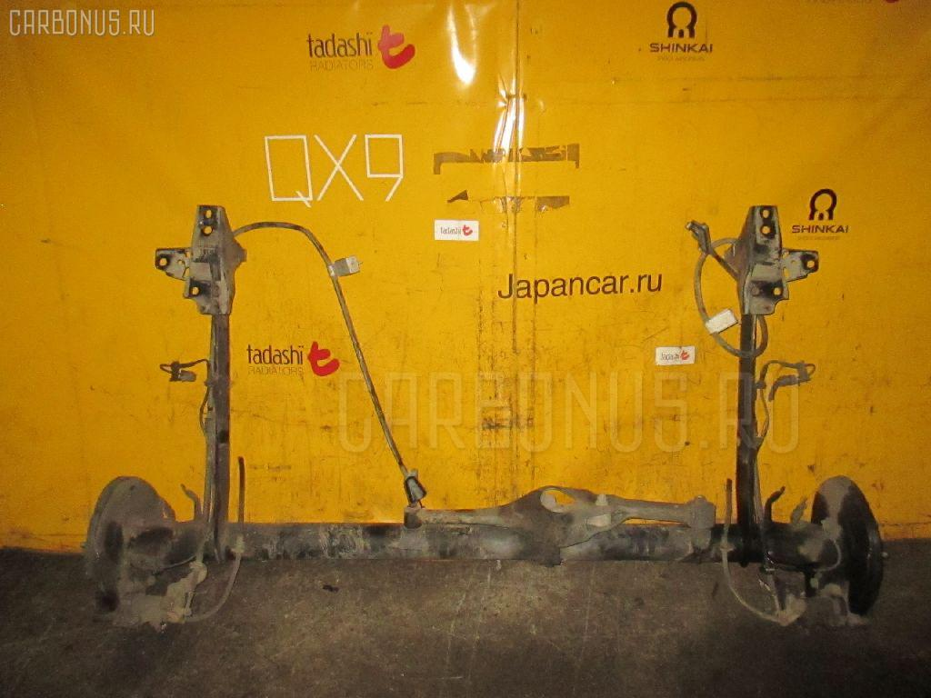 Балка подвески NISSAN TINO V10 QG18DE. Фото 11