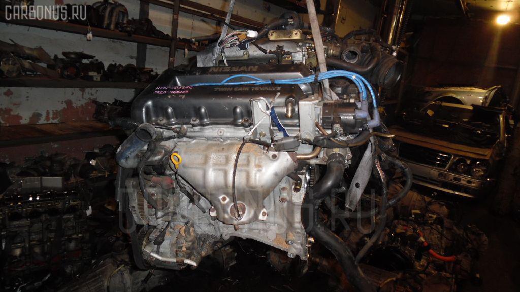 Двигатель NISSAN TINO HV10 SR20DE. Фото 7