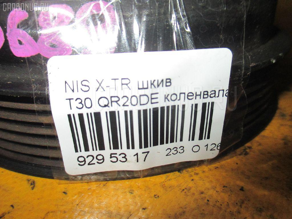 Шкив NISSAN X-TRAIL T30 QR20DE Фото 3